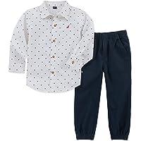 NAUTICA Sets (KHQ) (RJ7QG) Kids and Baby 2 Pieces Shirt Pants