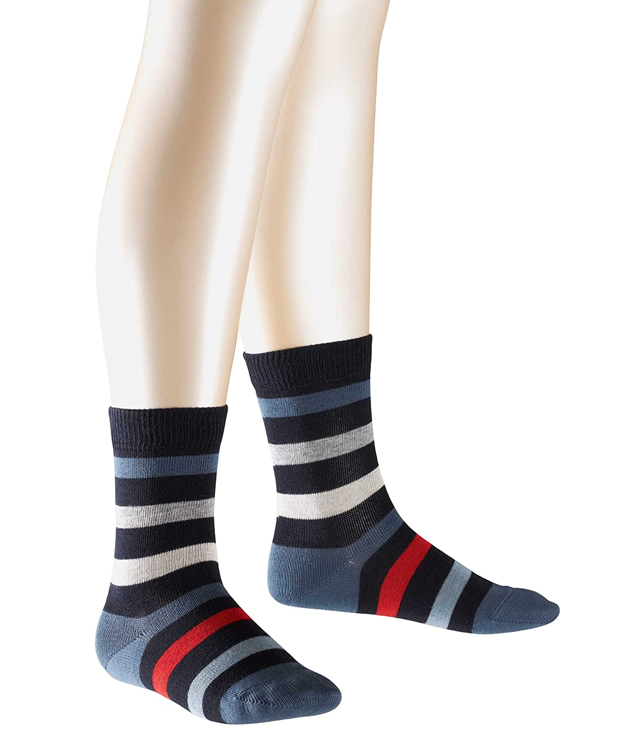 FALKE Unisex - Kinder Socke 10220 New Stripe SO FALKE KGaA