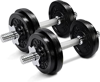 Amazon.com : Yes4All Adjustable Dumbbell 40.02 lbs : Sports & Outdoors