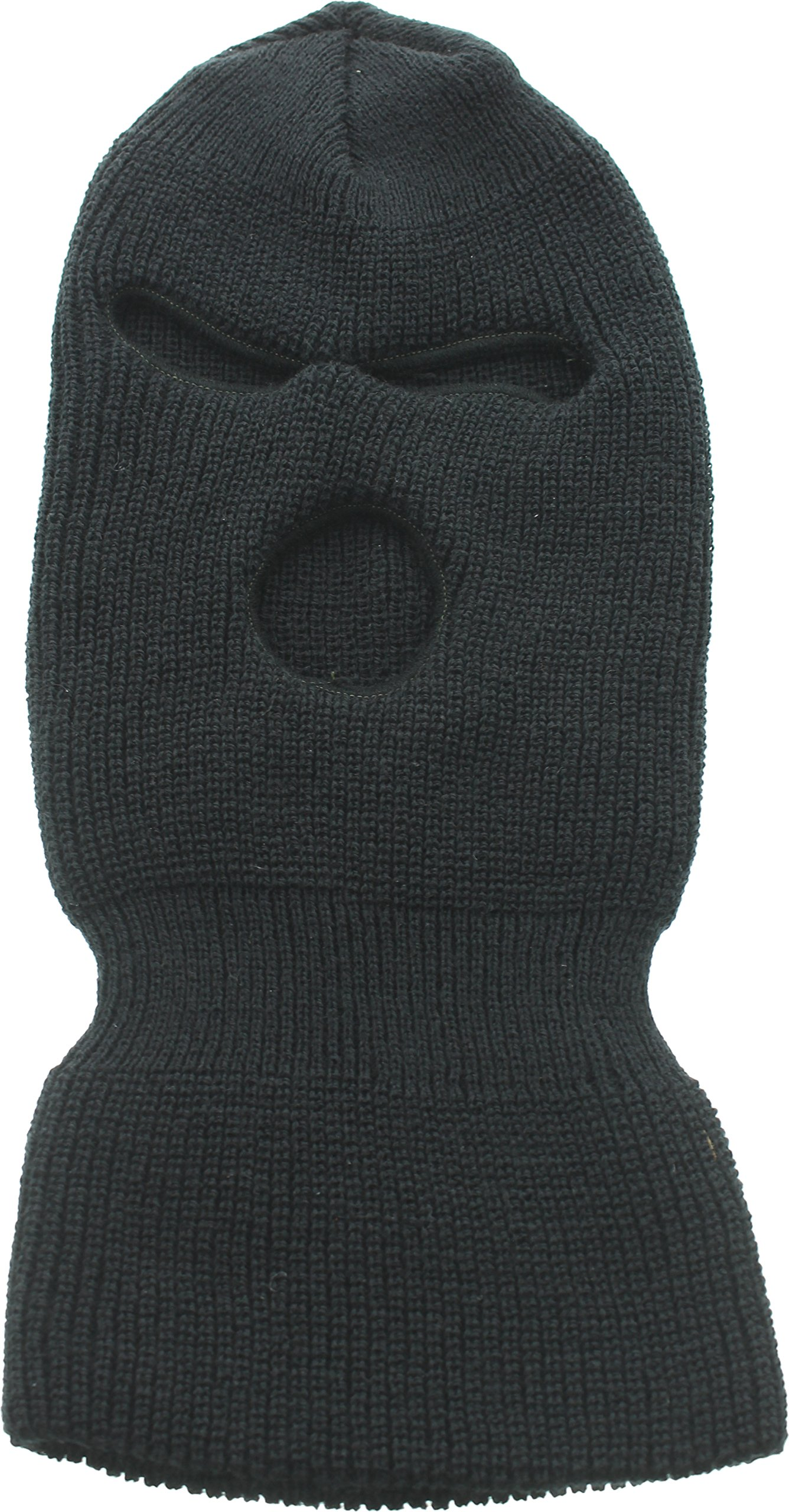 ArmyU Black 3-Hole Face Mask Acrylic 14674bc2e