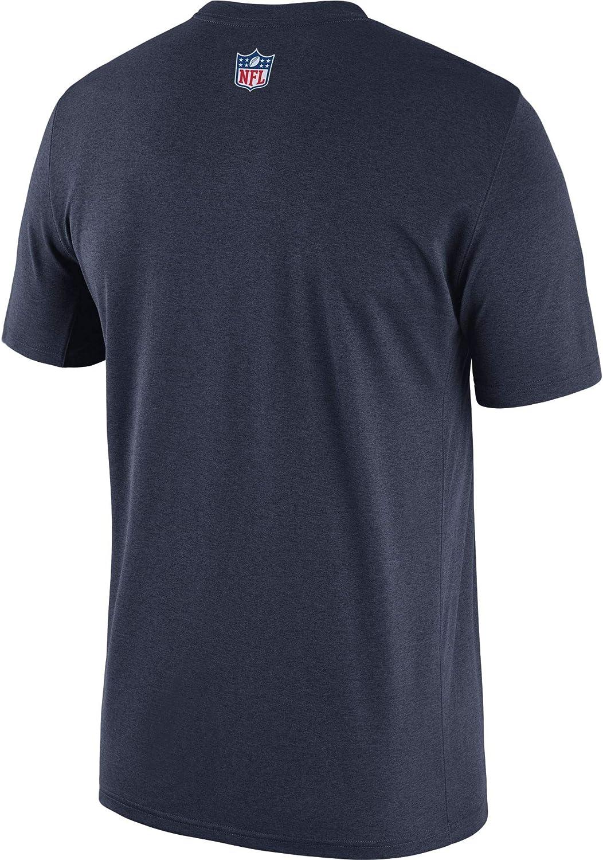 2XL Navy NFL Dallas Cowboys Mens Nike Legend Coaches T-Shirt