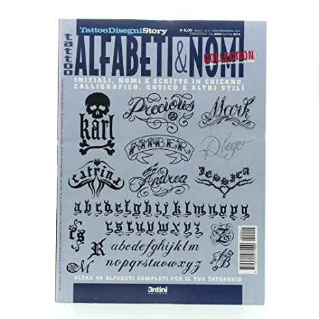 Tattoo Flash Book - Libro de tipografía para tatuajes