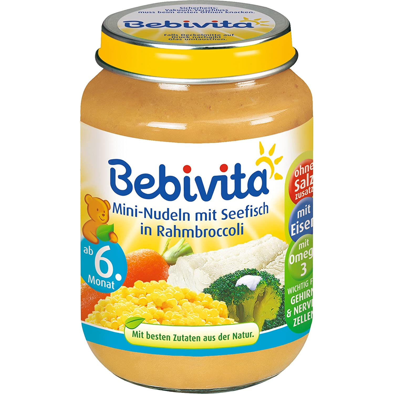 Bebivita - Mini-Nudeln mit Seefisch in Rahmbroccoli