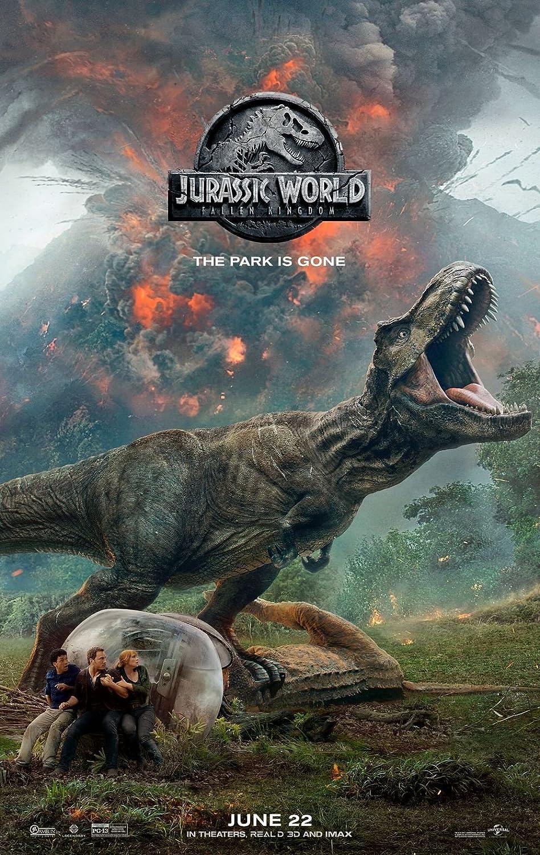 lunaprint Jurassic World Fallen Kingdom Movie Poster 70 X 45 ...