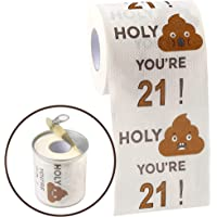 Happy 21st Birthday Gifts for Women and Men - Funny Toilet Paper Roll