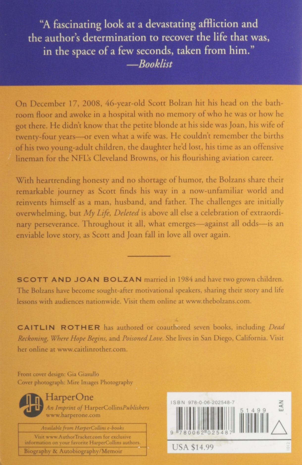 My Life, Deleted: A Memoir: Scott Bolzan, Joan Bolzan, Caitlin Rother:  Amazon.com: Books
