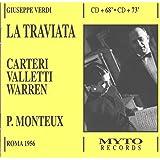 Verdi: La Traviata. Carteri; Valletti; Warren; Monteux