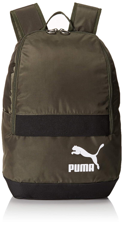 Puma Originals Backpack Tren Mochila, Unisex, 75442, Forest Night-Puma White, Talla única: Amazon.es: Deportes y aire libre