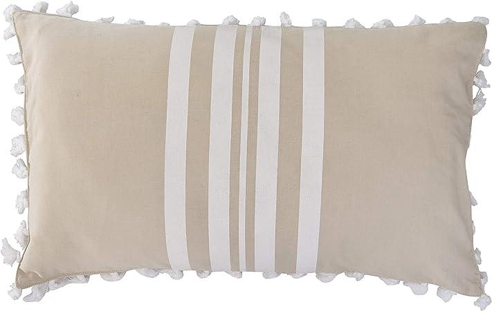 Febronie - Funda de cojín, algodón, Arena, única: Amazon.es: Hogar