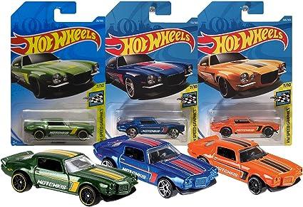 Hot Wheels 70 Camaro HW Speed Graphics 7//10 1:64 28//365 2018 Mattel