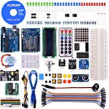 KINCREA RFID Master Starter Kit for Arduino, RC522 Sensor Module LCD Servo DC Motor, Update Projects with Tutorials