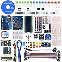 Kuman Projet Super Kit de Démarrage Avec Un Manuel D'utilisation Français Pour Arduino UNOR3 Mega2560 Mega328 Nano K4