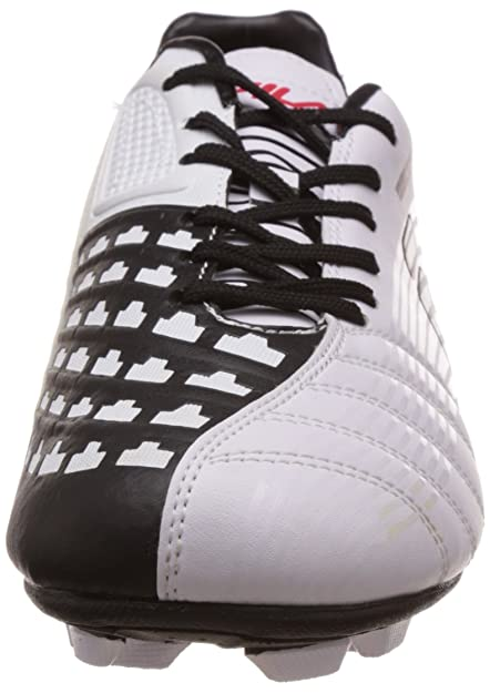 Fila Men s Restart White and Black Football Boots -11 UK India (45 EU)  Buy  Online at Low Prices in India - Amazon.in 70549ae1cb2