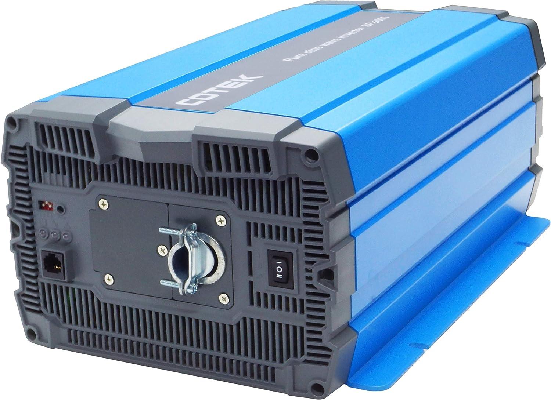 amazon com cotek sp3000 124 3000 watt 24 volt pure sine wave rh amazon com Aims Inverter Store Cotek Pure Sine Wave Inverter