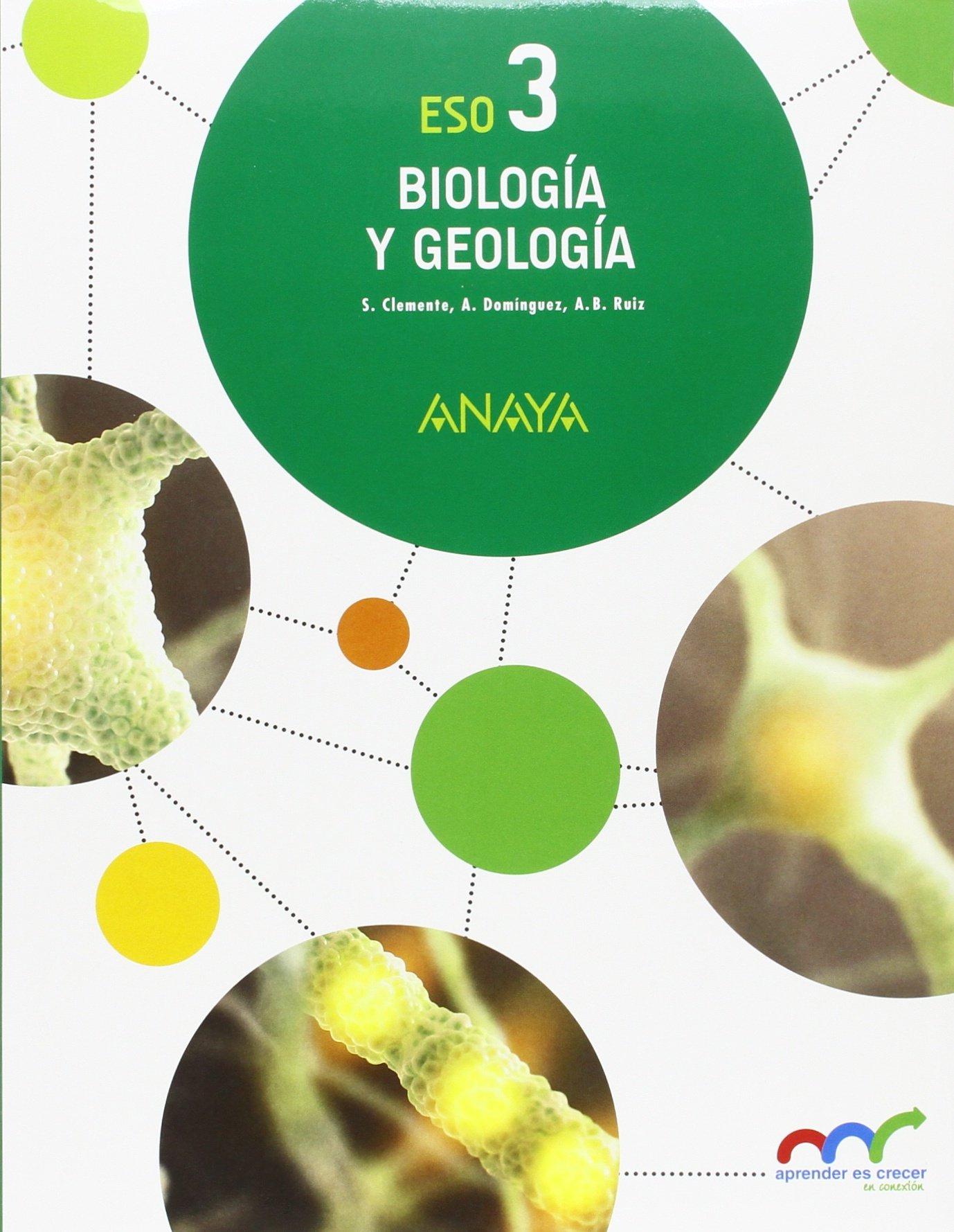 Biología Y Geología 3 Eso Andalucía Amazon Es Aa Vv Libros
