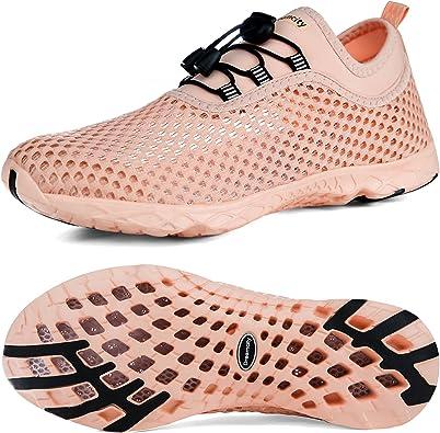 Amazon.com | Dreamcity Women's Water Shoes Athletic Sport Lightweight  Walking Shoes | Walking