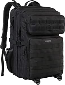 Military Tactical Backpack 42L Large Army Rucksack 3 Day Assualt Pack Molle Bag