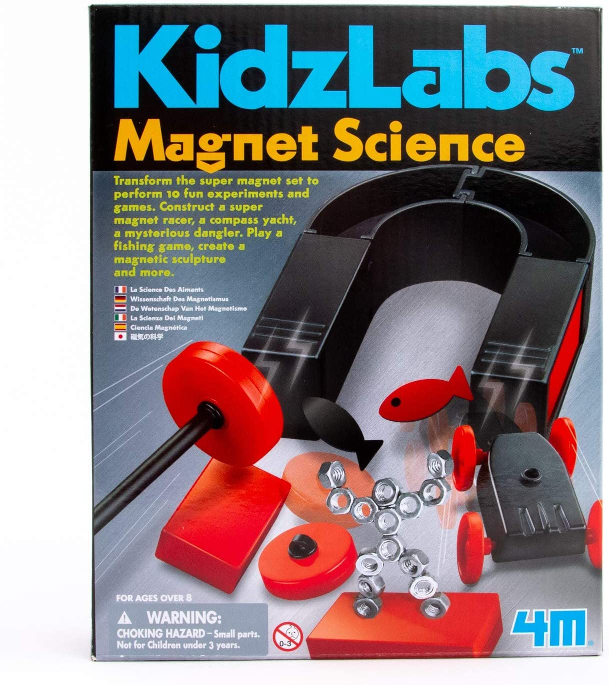 13 Best Science Kits for 6 Year Olds featured by top Seattle lifestyle blogger, Marcie in Mommyland: Magnet Science Kit