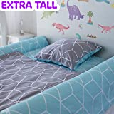(2-Pack) Extra-Tall Foam Bed Rails for Toddlers