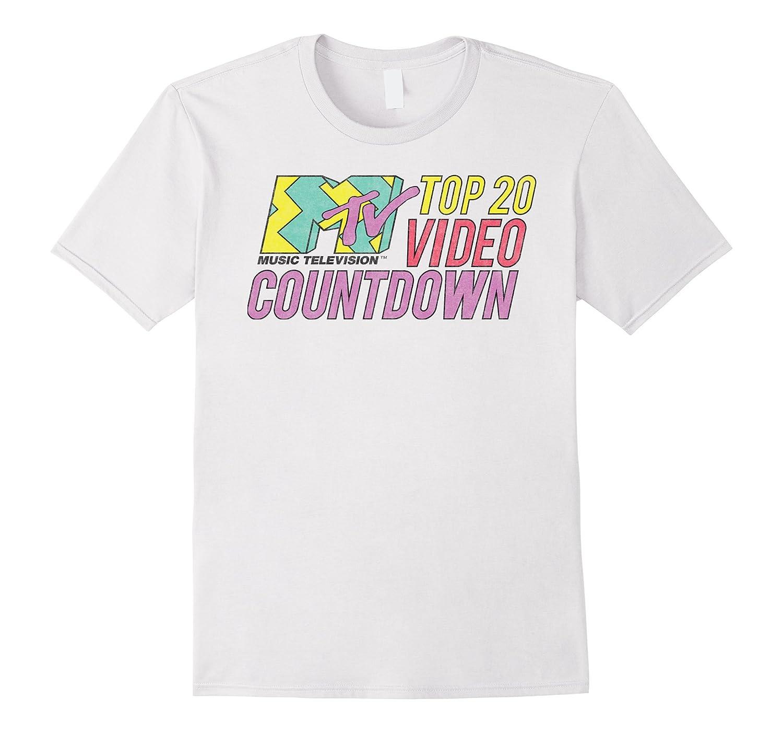 MTV - Top 20 Video Countdown Vintage Rock T-Shirt-ANZ