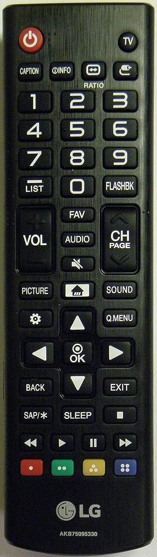 LG リモコン - ブラック - AKB75095330   B07Q83HR41