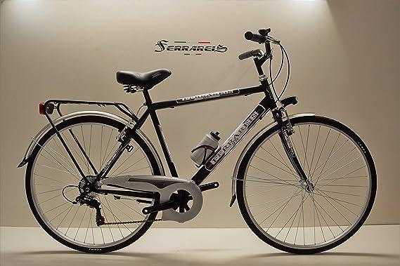 Ferrareis - Bicicleta de Trekking 28 para Hombre, 6 V, de Acero ...