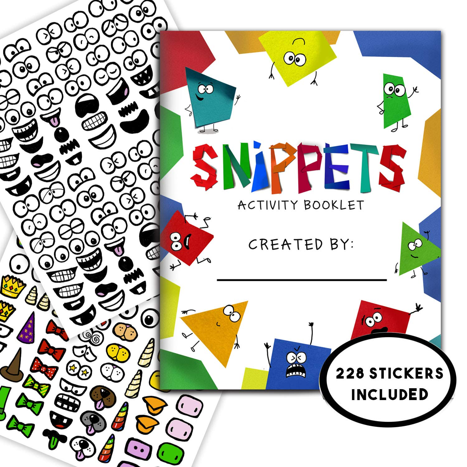 Snippets Sticker Activity Book