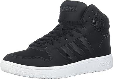 adidas Hoops 2.0 - Zapatillas medias para hombre