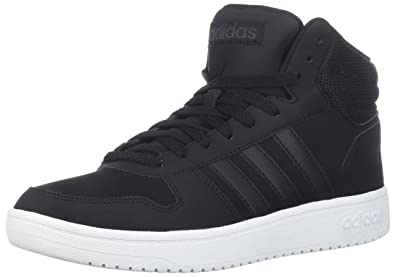 the best attitude ed442 9a67c adidas Mens Hoops 2.0 Mid Sneaker BlackCarbon, 4.5 M US