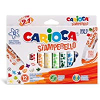 Carioca Stamperello Keçeli Boya Kalemi 12'Li