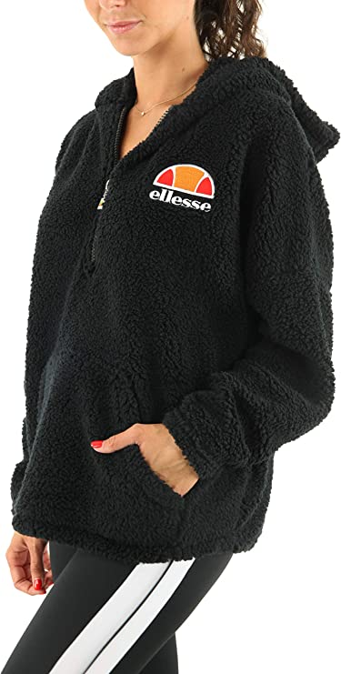 Ellesse Kapuzenpullover Sweatshirt /& Oberteile Verschiedene für Popover Zip