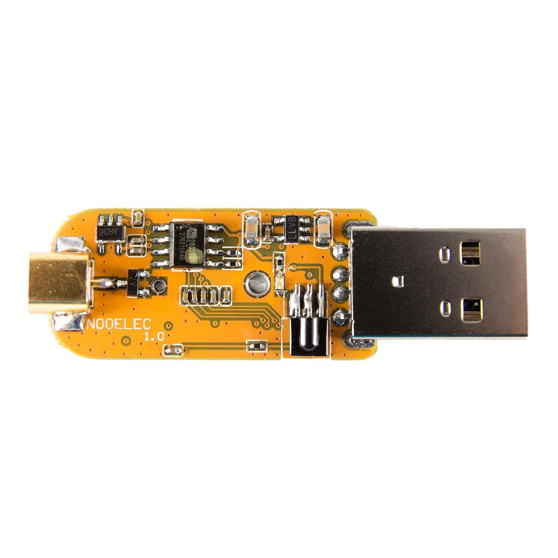 NooElec NESDR XTR RTL2832U + E4000 Tiny Extended-Range TCXO-Based RTL-SDR /& DVB-T USB Stick w//Antenna and Remote Control