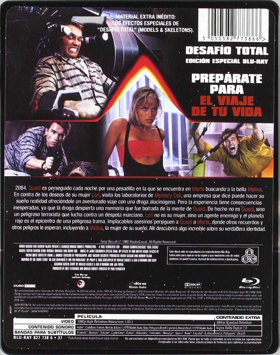 Desafio total (Edición especial) [Blu-ray]: Amazon.es ...