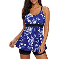 Zando Womens One Piece Swimsuits Plus Size Swimsuit Modest Bathing Suit Halter Slimming Swimdress Long Torso Swimsuits