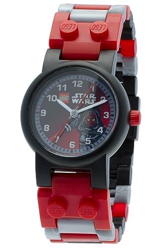 Lego Reloj Analógico niñas de Cuarzo con Correa en Plástico 9002953: Amazon.es: Relojes