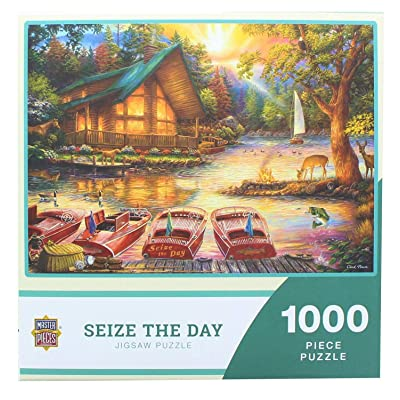 Masterpieces - Seize The Day by Chuck Pinson - 1000 Piece Jigsaw Puzzle: Toys & Games
