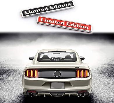 Metal Limited Editon Sport Auto Car Fender Emblem Skirts Badge Decal Sticker