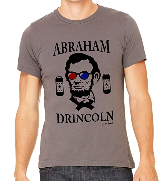 365281d8c2742 Source · Amazon com Emdem Apparel Abe Lincoln Drinking Funny 4th Of July