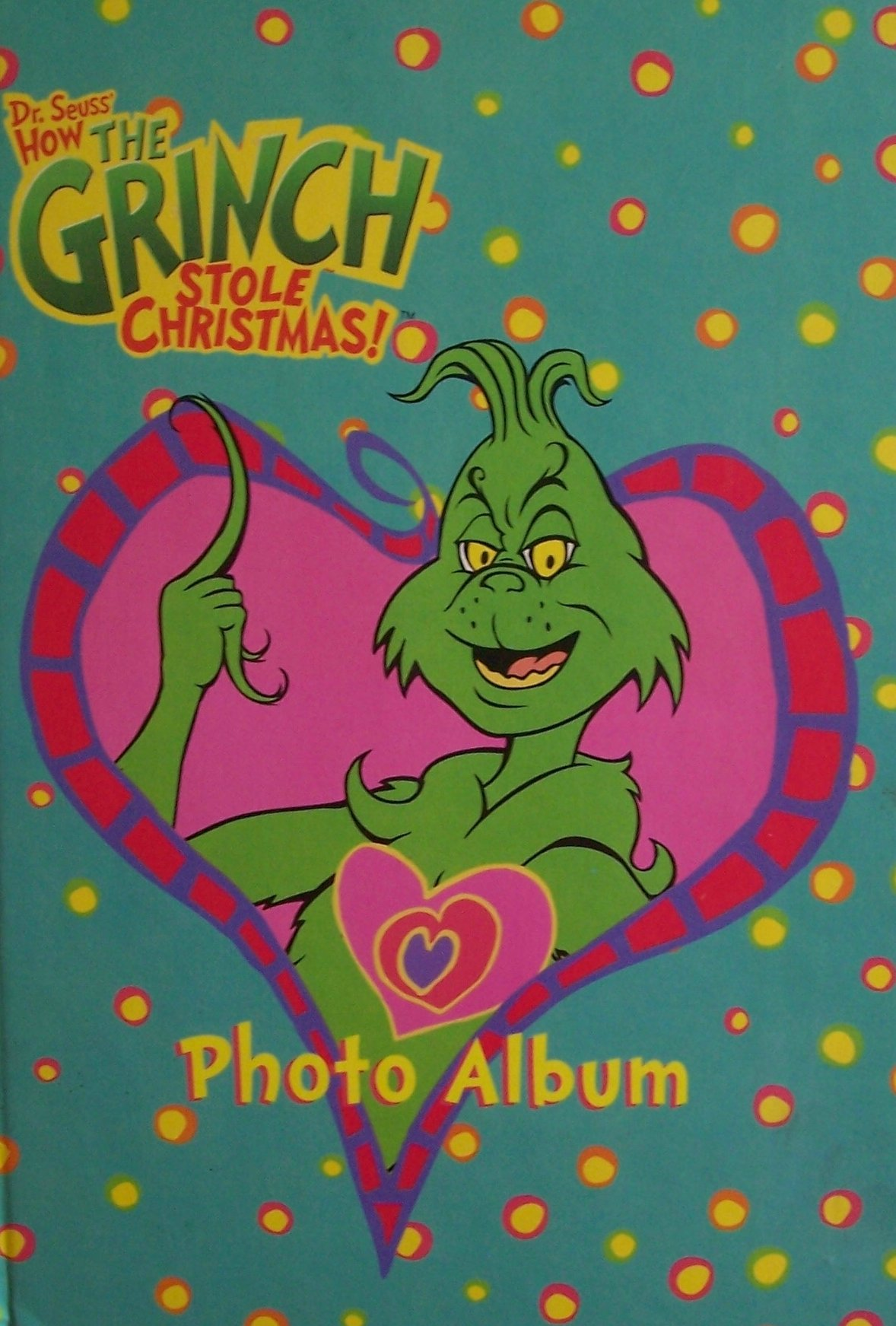 dr seuss how the grinch stole christmas photo album this 2000 edition exclusive to big face books big face books amazoncom books - Who Wrote How The Grinch Stole Christmas