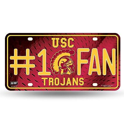 Amazon.com : Rico NCAA Southern California Trojans #1 Fan Metal ...