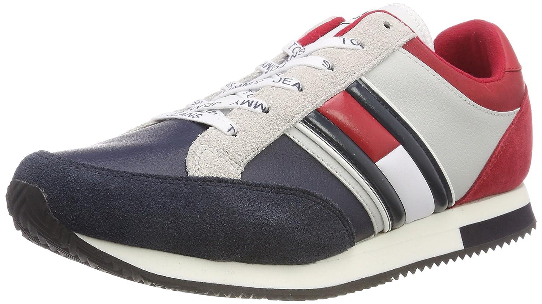 Tommy Jeans Casual Retro Sneaker, Zapatillas para Hombre