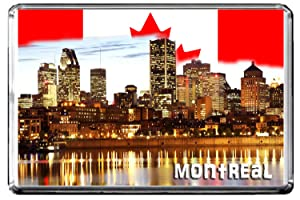 GIFTSCITY D013 MONTREAL FRIDGE MAGNET CANADA TRAVEL PHOTO REFRIGERATOR MAGNET