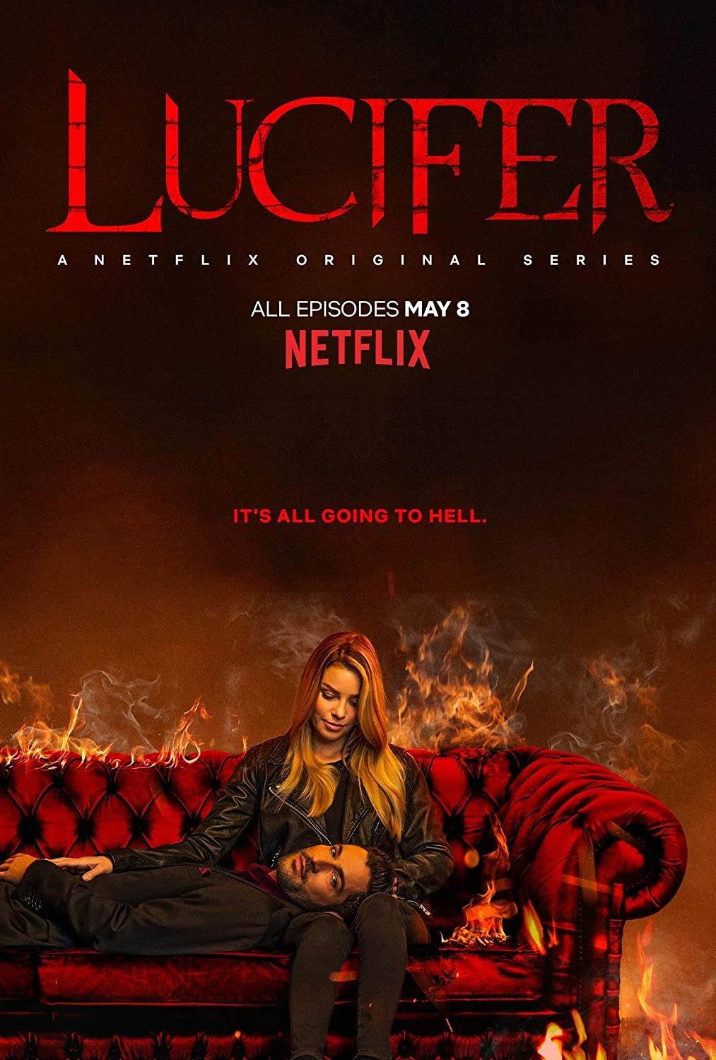 Lucifer Poster Print Home Wall Decor Gift