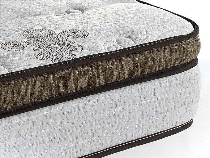 Living Sofa COLCHÓN COLCHONES VISCOELASTICO VISCOELASTICA con Muelle EMBOLSADO Premium 135 x 190 (Todas Las Medidas): Amazon.es: Hogar