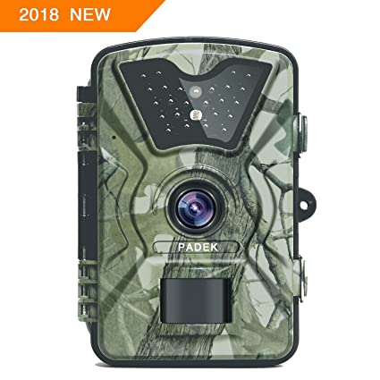 """APEMAN Trail Camera 12MP 1080P 2.4/"""" LCD Game/&Hunting Camera with 940nm Upgrad..."""
