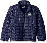 Reebok Boys' Big Active Jacket with Glacier Shield, Navy, 14/16