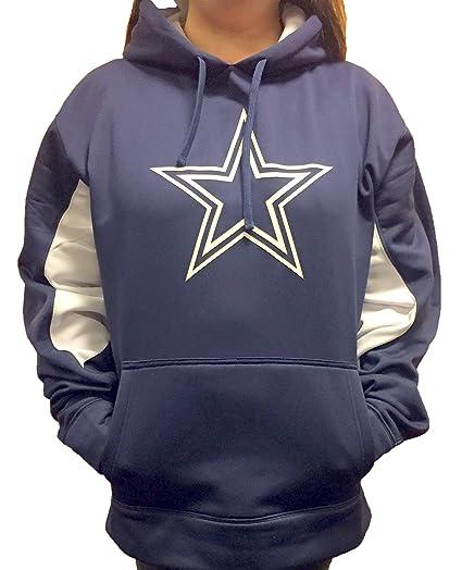 Amazon.com   Dallas Cowboys Women s Plus Size Star Logo Polyester ... 99ee76ecd