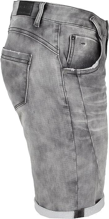 d6aca42f965f71 Sublevel Damen Sweat Bermuda-Shorts I Kurze Hose für Frauen in Jeansoptik  und Used-