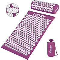 Femor acupressuurmat spijkermat met kussen spijkermat acupunctuur mat massagekussen voor pijnverlichting en…