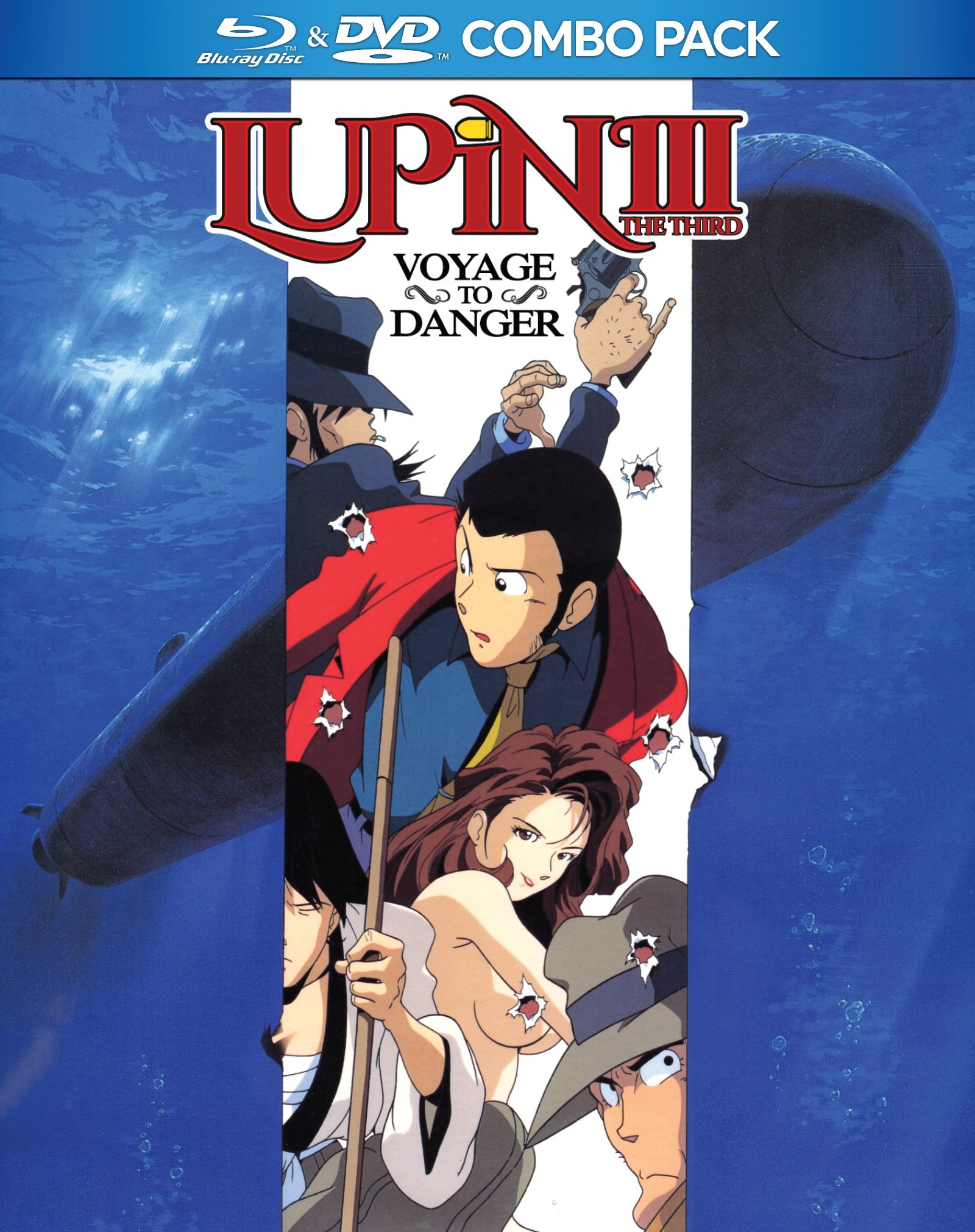 Blu-ray : Lupin the 3rd: Voyage to Danger DVD/BD - Lupin The 3rd: Voyage To Danger (With DVD, 2PC)